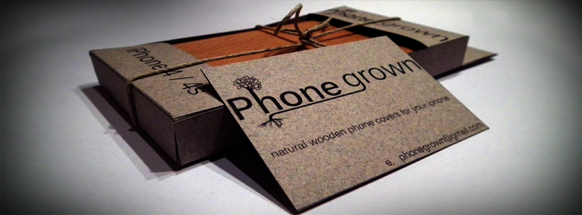 Irish hand made wooden iPhone Cover